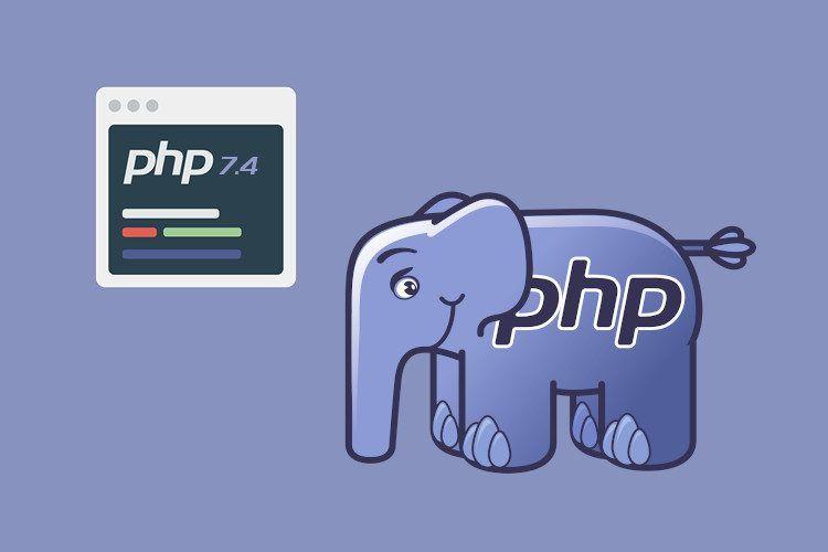 PHP 7.4 is beschikbaar voor al onze klanten