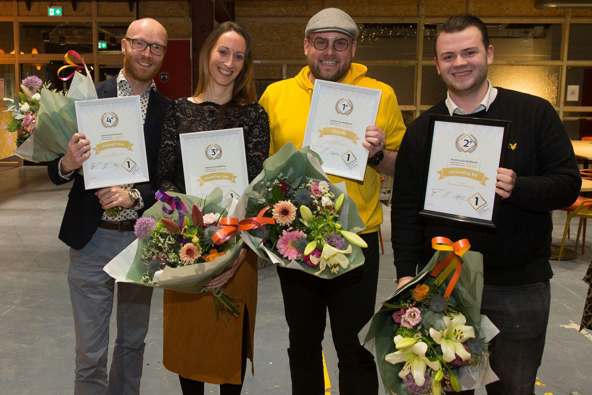 We zijn een van de klantvriendelijkste organisaties van Noord-Nederland!