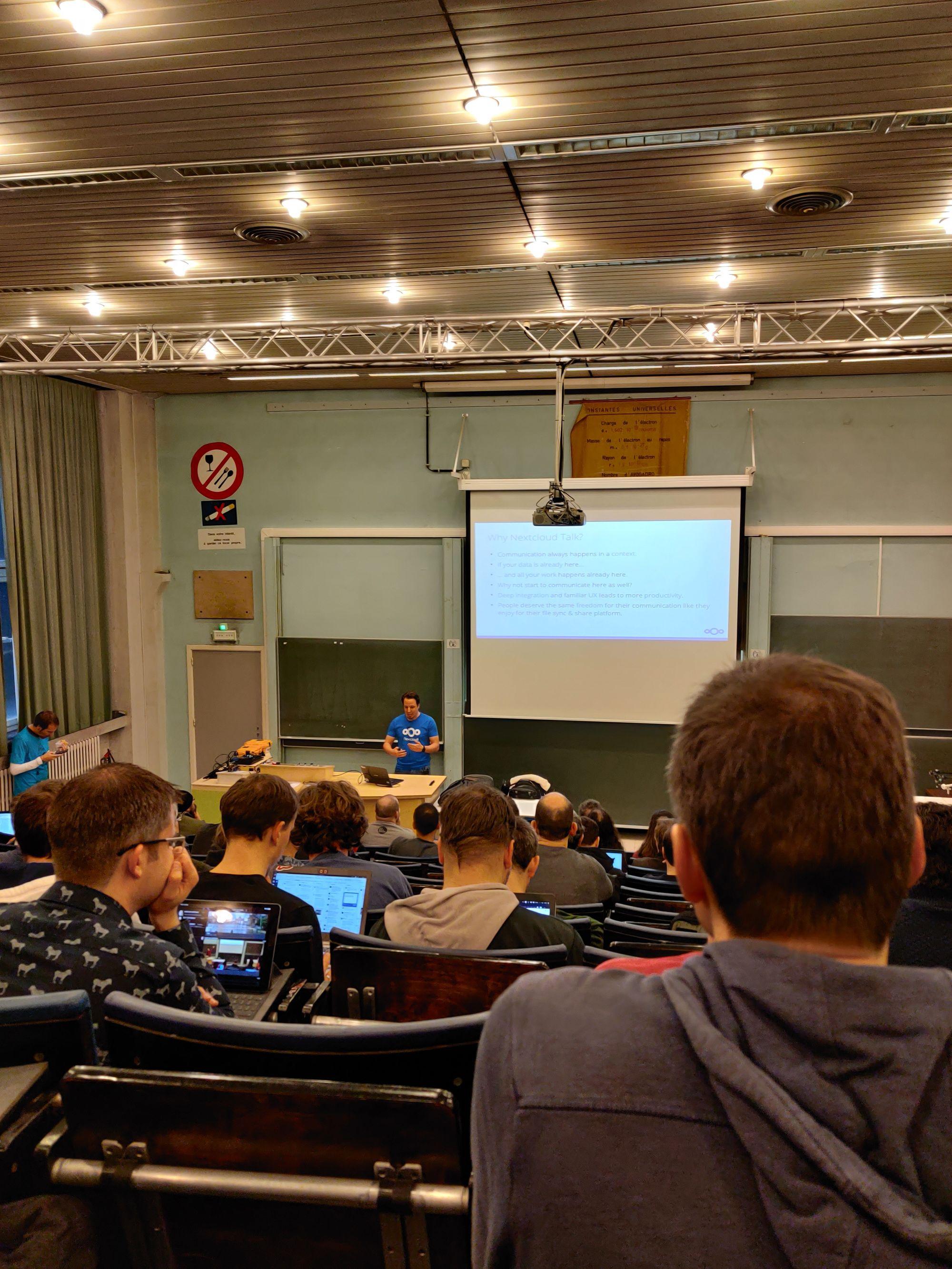 Mijn bezoek aan het open source evenement FOSDEM in Brussel