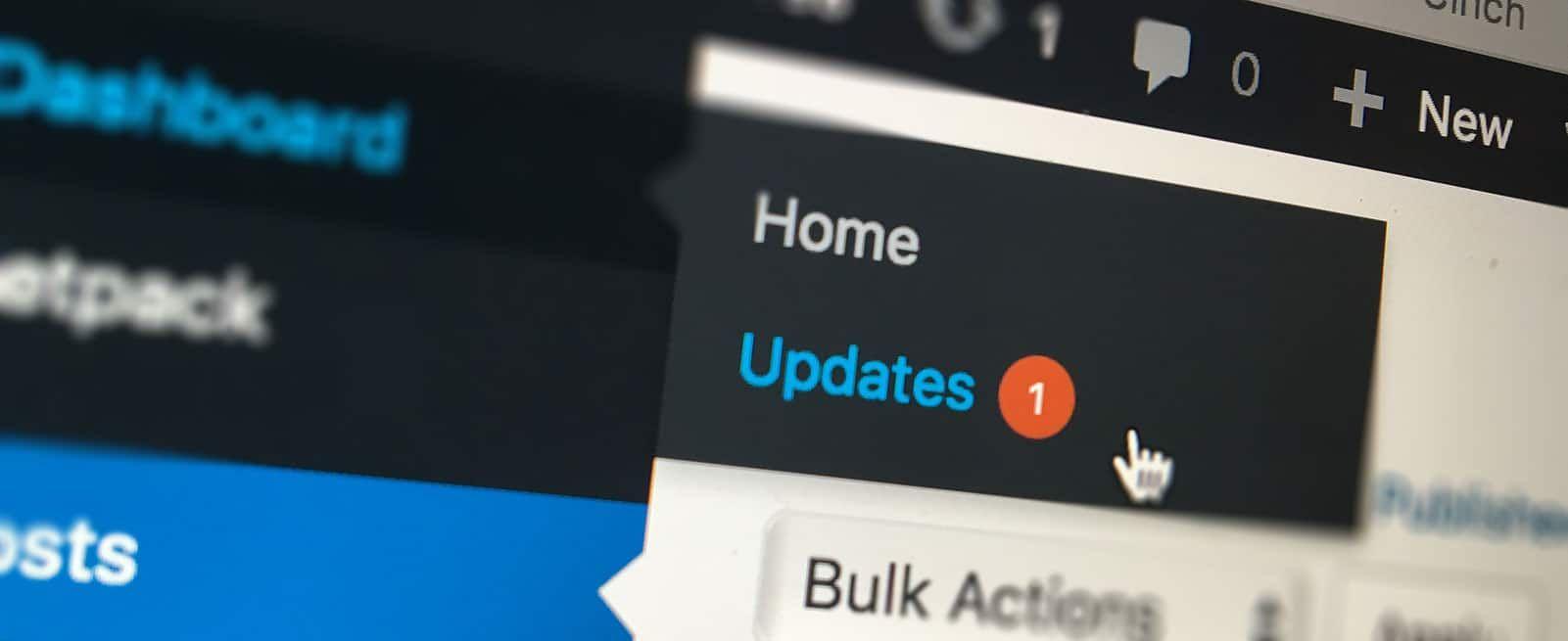 Waarom het belangrijk is om WordPress plugins te updaten