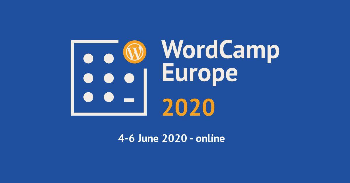 Bezoek WordCamp Europe gratis en vanuit huis!