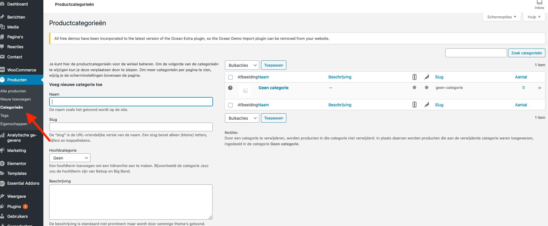 Productcategorieën aanmaken in je WooCommerce webshop