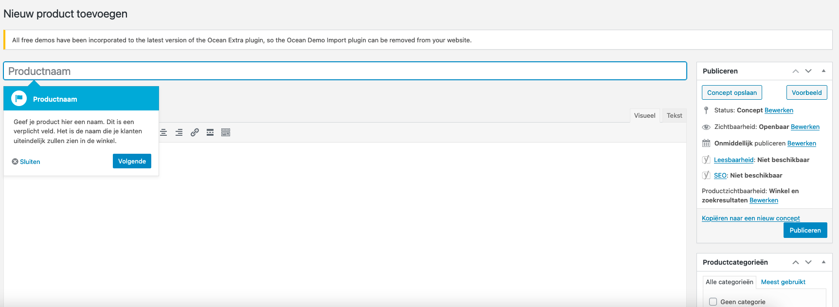 Nieuw product toevoegen aan je WooCommerce webshop