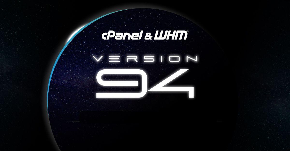 Wat is er nieuw in cPanel versie 94?