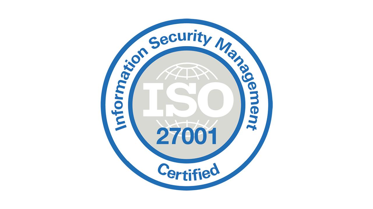 ISO certificering: beveiliging en privacy zijn essentieel