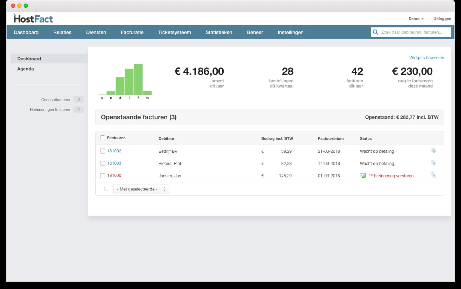 Automatiseer je hosting- en domeinbestellingen met HostFact